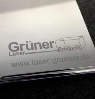 Laser Engraving Grüner Laser Products