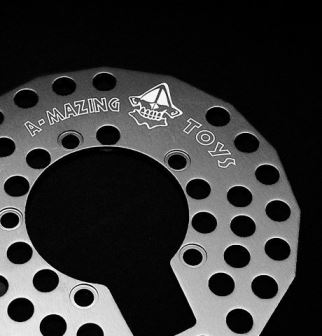 Laser marking of technical components