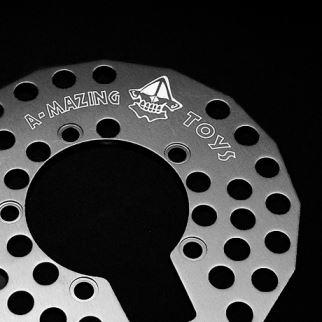 Laser engraving technical parts Aluminium Laser Gruener