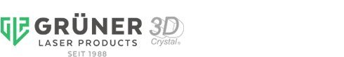 Grüner Laser Products - 3D Crystal in Perfection